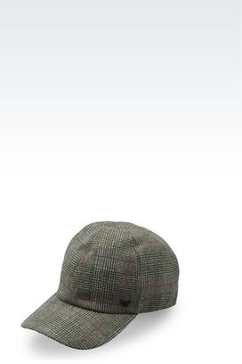 Armani Caps Men wool baseball cap