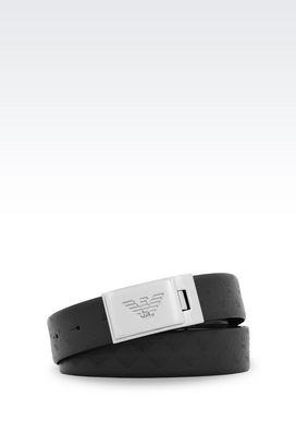 Armani Belts Men adjustable reversible belt