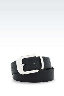 Armani Belts Men adjustable reversible belt