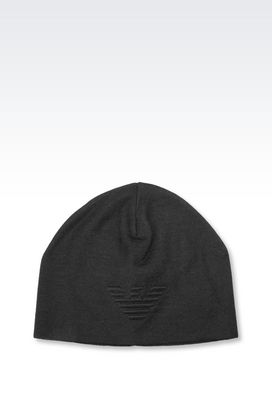 Armani Hats Men cap in wool blend