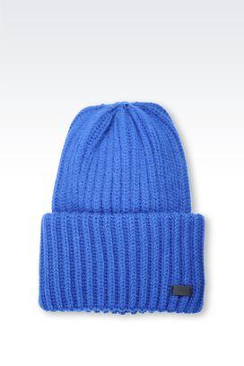 Armani Hats Men cap in wool blend