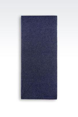Armani Stoles Men wrap in wool blend