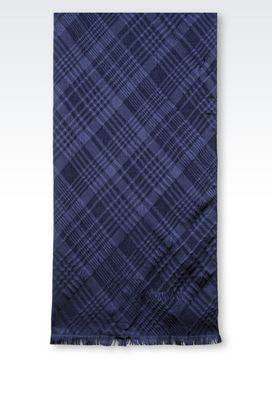 Armani Stoles Men silk blend wrap