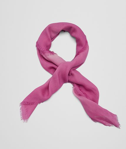 SCARF IN PINK WOOL