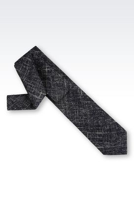 Armani Ties Men tie in wool blend