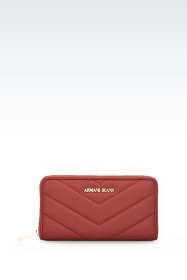 Armani Brieftaschen Für sie brieftasche mit rundum-reissverschluss und logo
