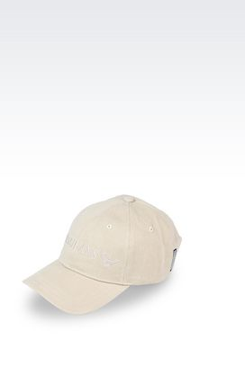 Armani Hats with visor Men cotton baseball cap