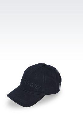 Armani Hats with visor Men cotton baseball cap