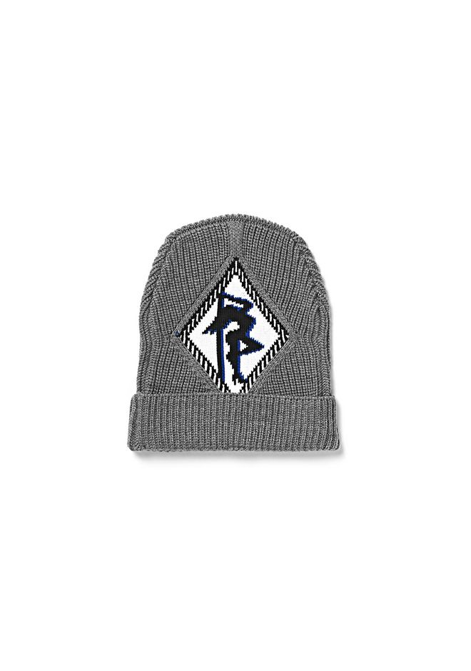ALEXANDER WANG Scarves & Hats Women RIB BEANIE WITH ARGYLE GIRL