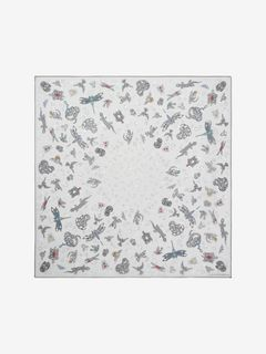 Foulard Animal Jewel in Chiffon di Seta