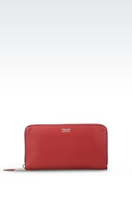 Armani Wallets Women wallet in calfskin
