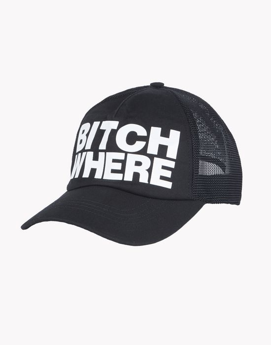 bitch where baseball cap complementos Hombre Dsquared2