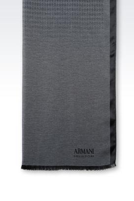 Armani Stoles Men wrap in silk and viscose
