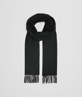 SCARF IN BLACK CASHMERE
