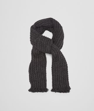 SCARF IN ANTHRACITE CASHMERE