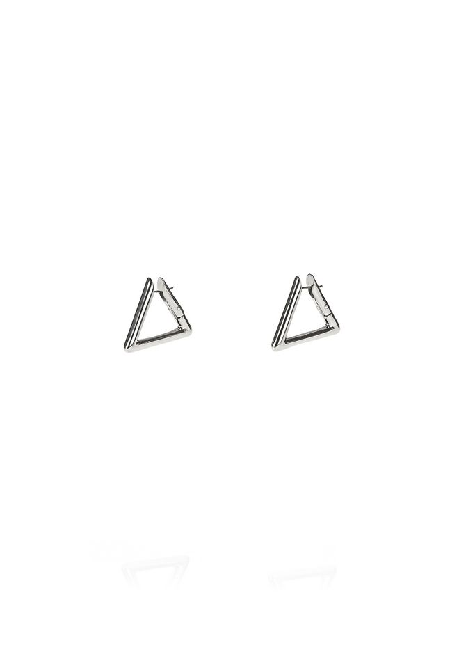 ALEXANDER WANG new-arrivals TRIANGLE LINK EARRINGS