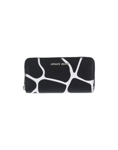 Image of ARMANI JEANS Small Leather Goods Wallets Women on YOOX.COM