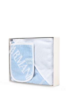 Armani Gift sets Men bathrobe and glove set