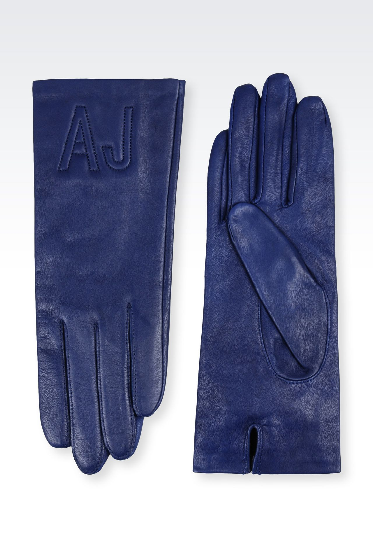 Armani exchange black leather gloves - Napa Leather Gloves Gloves Women By Armani 0