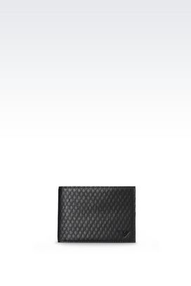 Armani Wallets Men bi-fold wallet with logo