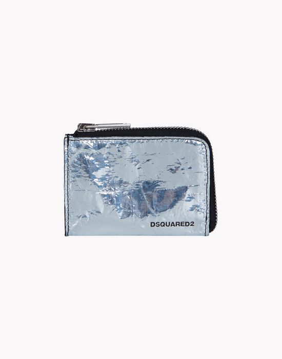 silver & black credit card holder other accessories Man Dsquared2