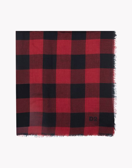 canadian check foulard altri accessori Uomo Dsquared2
