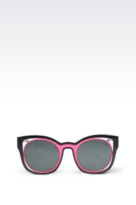 Armani Sunglasses Women metal and nylon fibre sunglasses