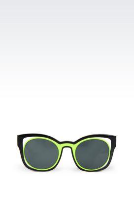 Armani Sunglasses Women runway acetate sunglasses