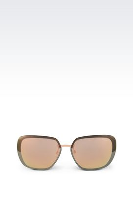 Armani Sunglasses Women metal sunglasses