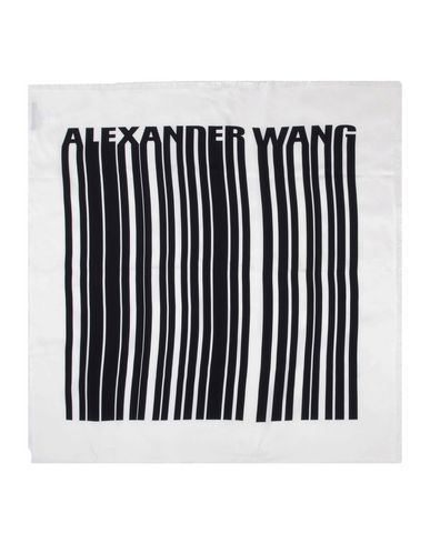 Image of ALEXANDER WANG ACCESSORIES Square scarves Women on YOOX.COM