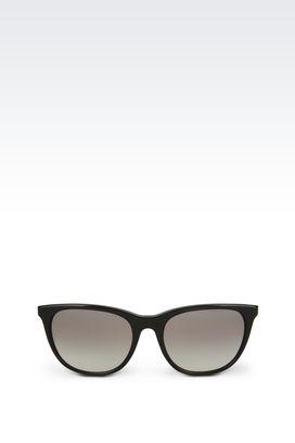 Armani Sunglasses Women full fitting acetate and nylon fibre sunglasses
