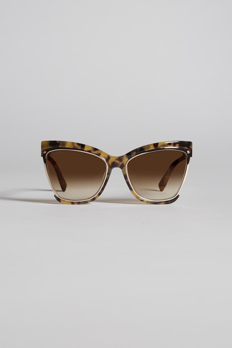 amber eyewear Woman Dsquared2