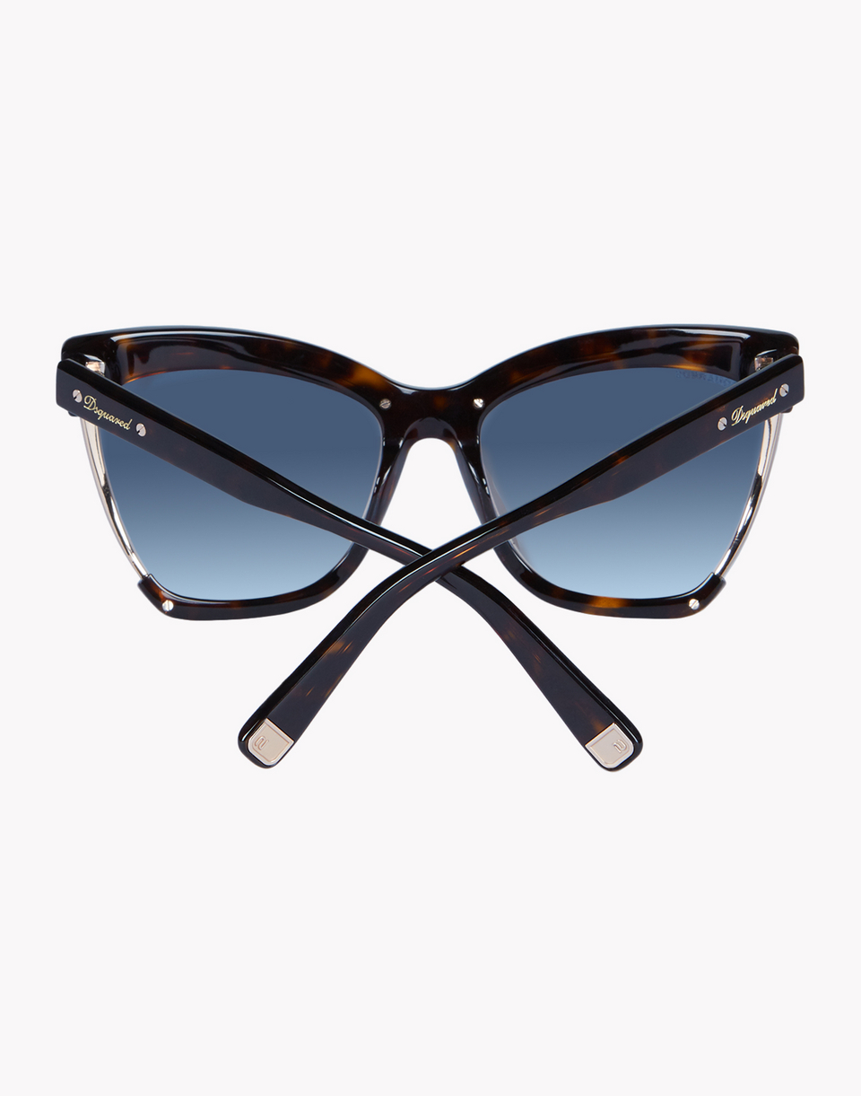 amber eyewear Woman Dsquared2