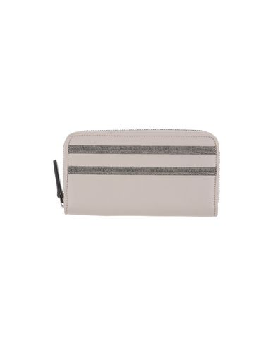 Image of BRUNELLO CUCINELLI Small Leather Goods Wallets Women on YOOX.COM