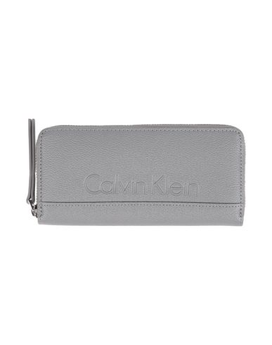 Image of CALVIN KLEIN JEANS Small Leather Goods Wallets Women on YOOX.COM