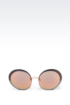 Armani Sunglasses Women metal sunglasses