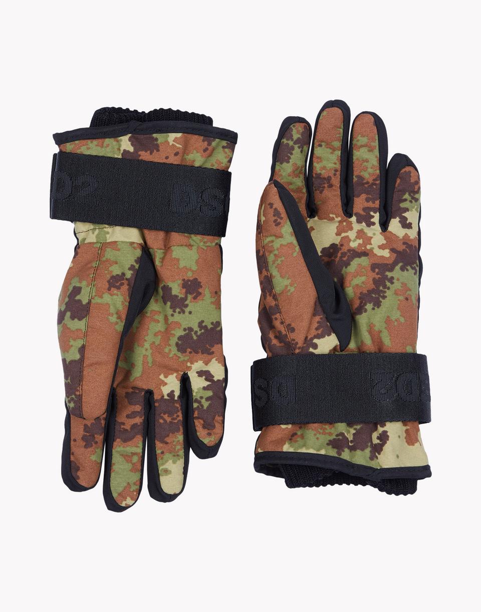 camouflage technical ski gloves  weitere accessoires Herren Dsquared2