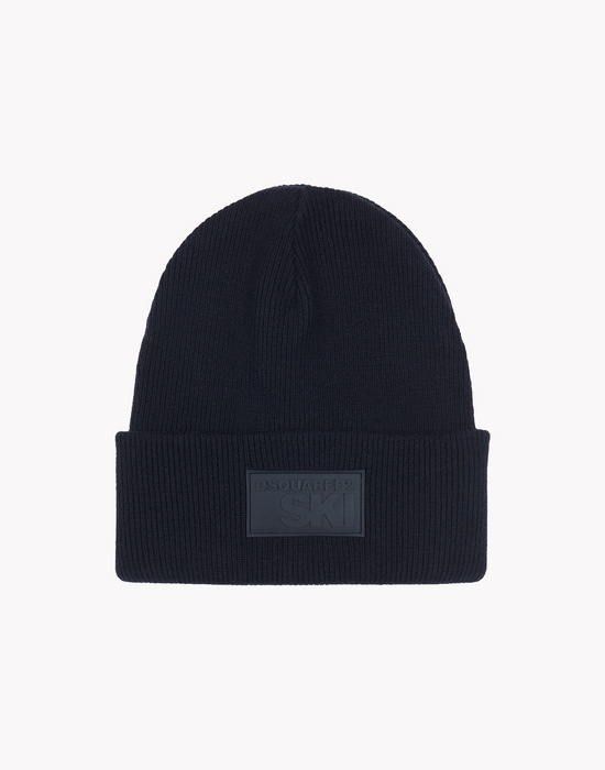 wool knit ski beanie other accessories Man Dsquared2