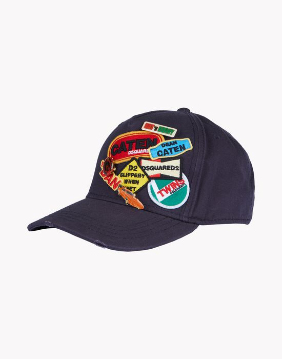 patch baseball cap other accessories Man Dsquared2