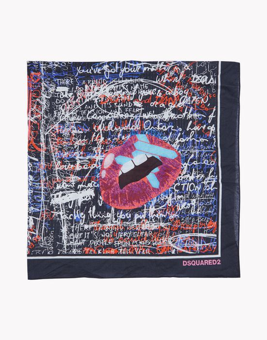 graffiti foulard altri accessori Uomo Dsquared2