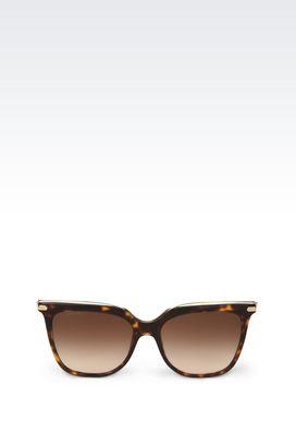 Armani Sunglasses Women  acetate and metal sunglasses