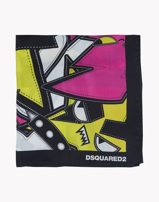 silk foulard other accessories Woman Dsquared2