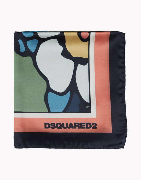 satin silk foulard other accessories Woman Dsquared2