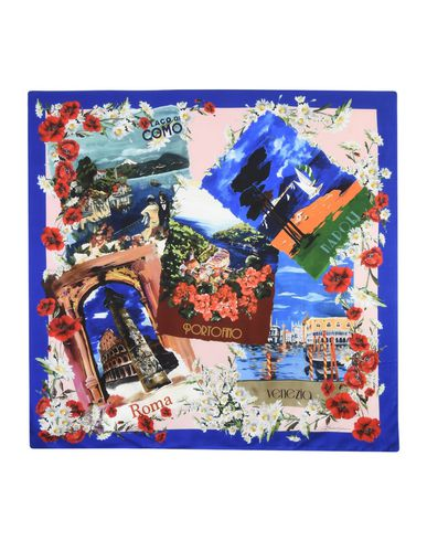 Image of DOLCE & GABBANA ACCESSORIES Square scarves Women on YOOX.COM