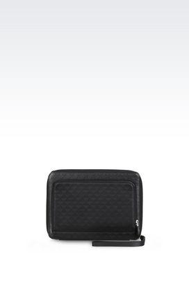 Armani iPad holders Men small leather goods