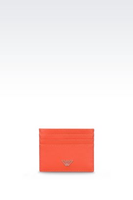 Armani Card holders Men small leather goods