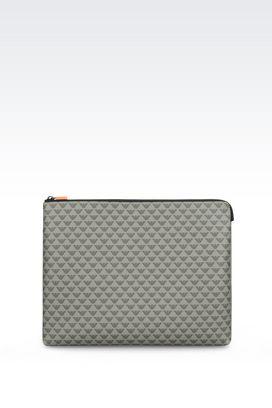 Armani Pouches Men small leather goods