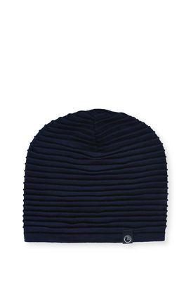Armani Cappelli Uomo cappello cotone righe in rilievo