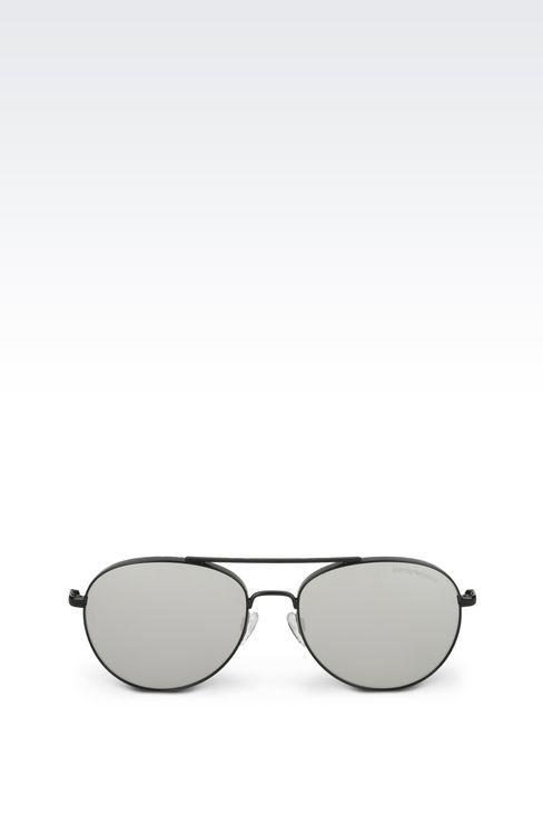Tinted pilot sunglasses: sunglasses Men by Armani - 1