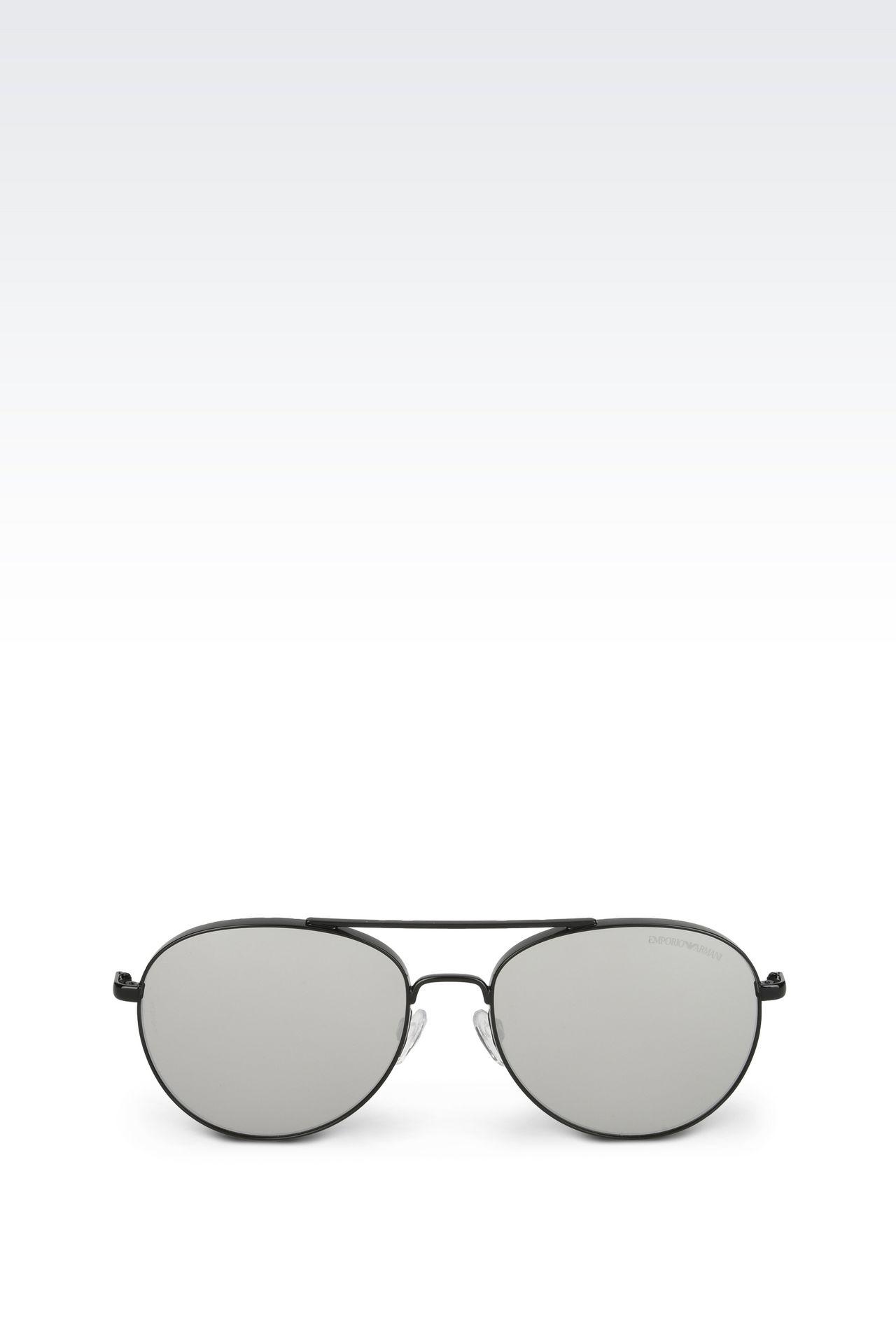 Tinted pilot sunglasses: sunglasses Men by Armani - 0